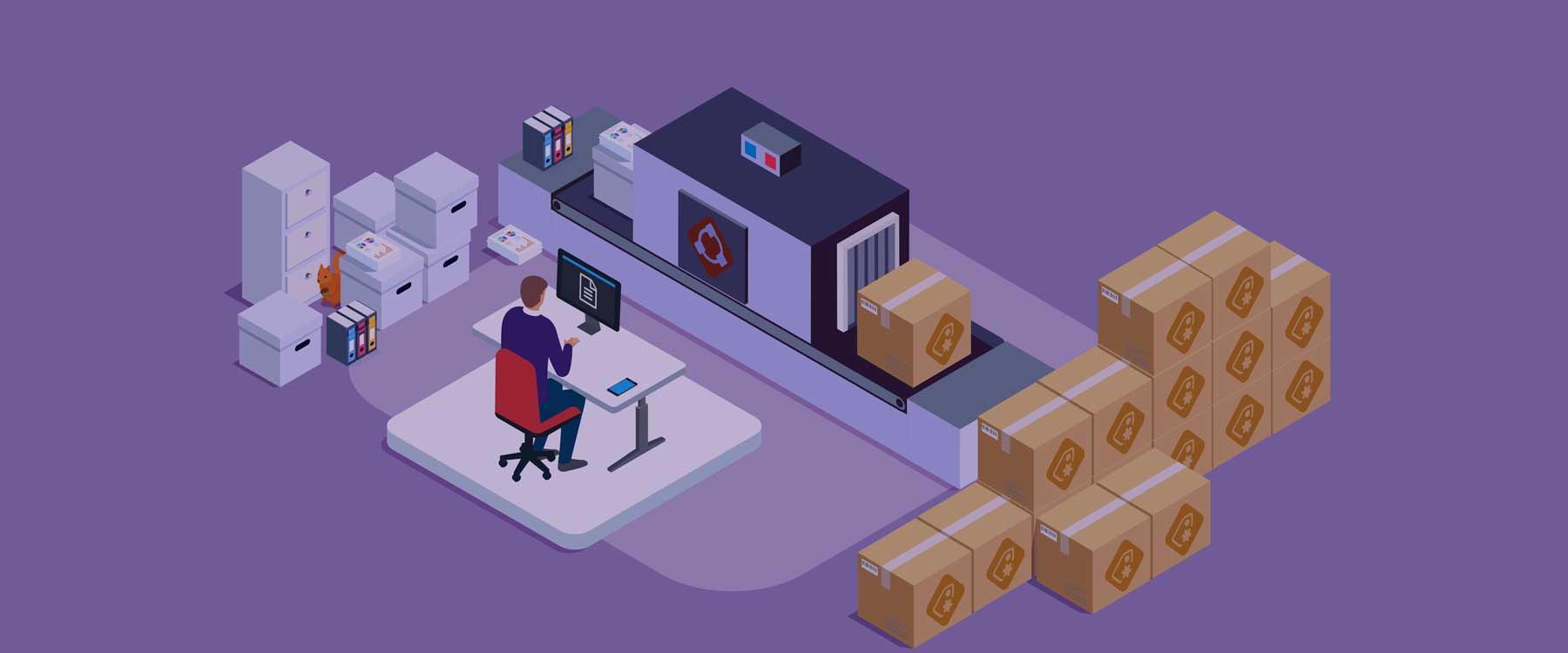 document scanning digitisation